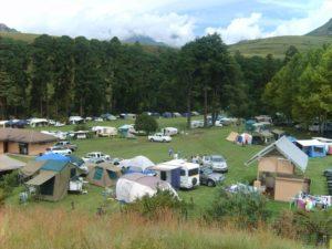 big campsite